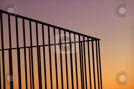 Lines stock photo, Lines at the sunset by Rui Vale de Sousa