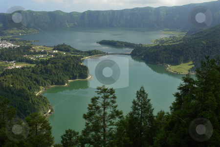 Seven stock photo, Seven lake city at the azores islando of sao miguel, portugal by Rui Vale de Sousa