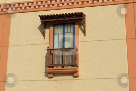 Orange stock photo, House detail by Rui Vale de Sousa