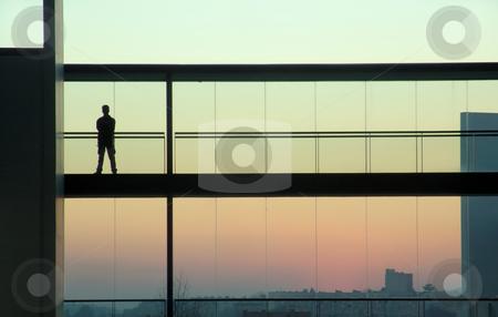 Man stock photo, Man in a building by Rui Vale de Sousa