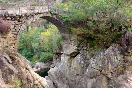 Bridge stock photo, Ancient bridge by Rui Vale de Sousa