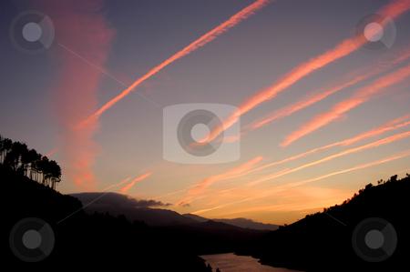 River stock photo, River sunset by Rui Vale de Sousa