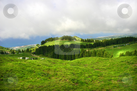 Landscape stock photo, Azores landscape by Rui Vale de Sousa