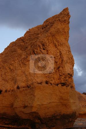 Rock stock photo, Rock in the sea by Rui Vale de Sousa