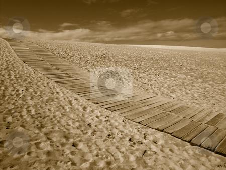 Path stock photo, Sand path by Rui Vale de Sousa