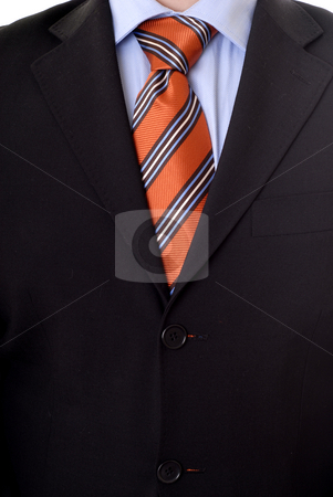 Body stock photo, Business man Suit isolated on white background by Rui Vale de Sousa