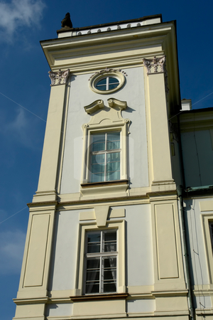 Building stock photo, Old prague building in the old town by Rui Vale de Sousa