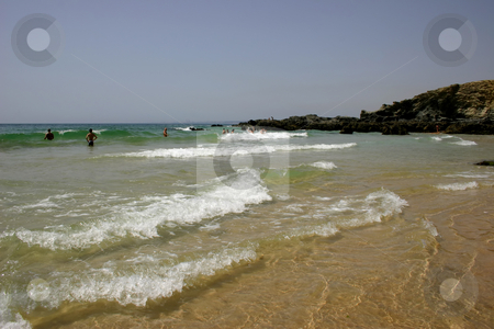 Beach stock photo, People on the beach by Rui Vale de Sousa