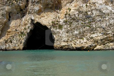 Dwejra stock photo, Dwejra cave at the beach in Gozo island, Malta by Rui Vale de Sousa