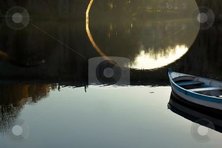 Boat stock photo, Boat and bridge by Rui Vale de Sousa