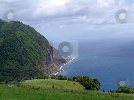 Coast stock photo, Azores coast by Rui Vale de Sousa
