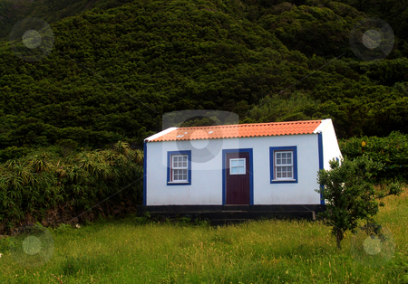Little house stock photo, Little house in azores islands by Rui Vale de Sousa