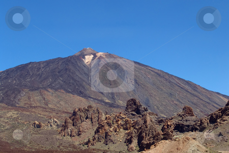 Mountain stock photo, Mountain of El teide in tenerife island, spain by Rui Vale de Sousa