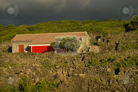 House stock photo, House in the rocks by Rui Vale de Sousa