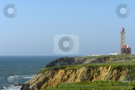 Lighthouse stock photo, Lishthouse at the coast by Rui Vale de Sousa