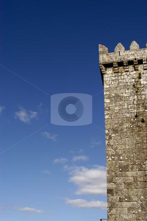 Castle stock photo, Portuguese castle detail by Rui Vale de Sousa