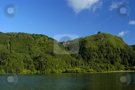 Furnas lake stock photo, Furnas lake in azores by Rui Vale de Sousa
