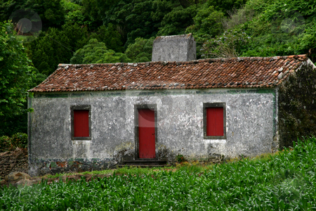Old house stock photo, Azores old house by Rui Vale de Sousa