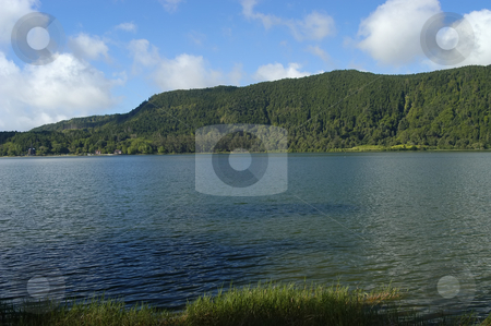 Lake stock photo, Azores lake by Rui Vale de Sousa