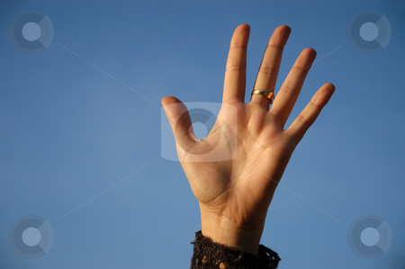 Ring stock photo, Ring on the hand by Rui Vale de Sousa