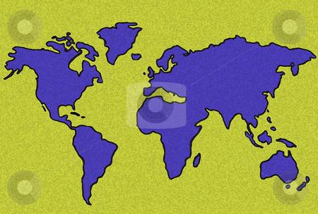 Map stock photo, Map illustration by Rui Vale de Sousa