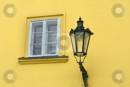 Lamp stock photo, Architecture details of prague by Rui Vale de Sousa