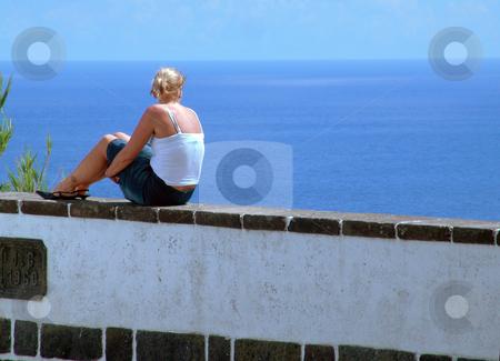 Woman stock photo, Contemplation by Rui Vale de Sousa