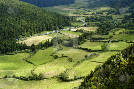 Azores stock photo, Azores natural landscape by Rui Vale de Sousa