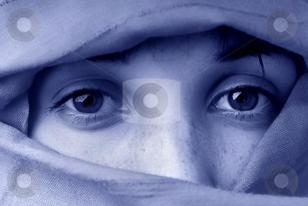 Girl stock photo, Young woman close up portrait, toned mode by Rui Vale de Sousa