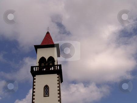 Tower stock photo, Church tower by Rui Vale de Sousa
