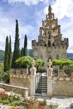 Historic chapel stock photo, The historic chapel in the old city center of Nyons, Drome, France by Corepics VOF