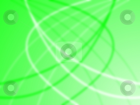 Neon Green Background stock photo, Neon green background with light and darker lines, by Henrik Lehnerer