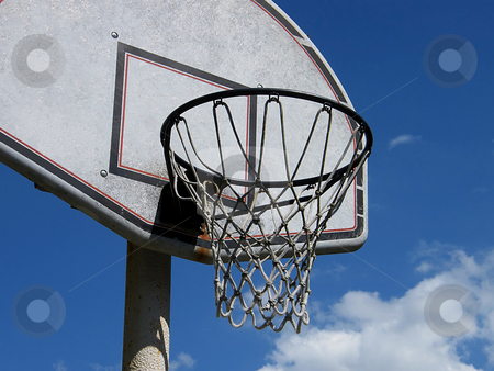 Basketball Hoop stock photo, Basketball Hoop by Dazz Lee Photography