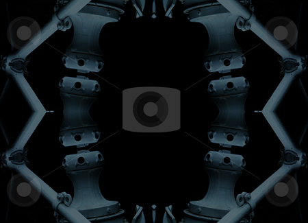 Blue Steel - Background Pattern stock photo, Blue Steel - Background Pattern by Dazz Lee Photography