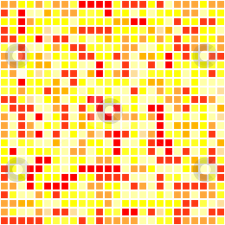 Yellow pixel stock vector clipart, This is a pixel background in yellow tone by Veronika Pilatova