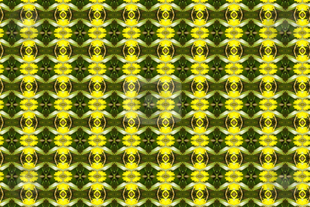 Summery Background stock photo, Yellow and green geometric abstract background/wallpaper by Sandra Fann