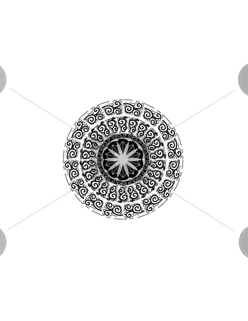 Famous pattern stock vector clipart, This is a ring of famous pattern by Veronika Pilatova