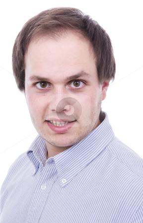 Beauty caucasian guy isolated stock photo, Beauty caucasian guy isolated by Cristovao Oliveira