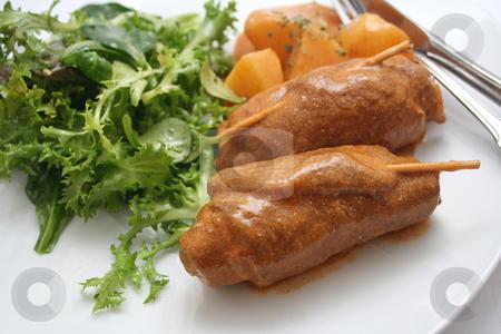 Fresh dinner stock photo, Fresh dinner by Yvonne Bogdanski