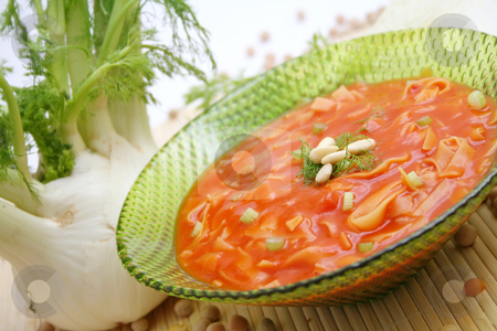 Fresh soup stock photo, Fresh soup by Yvonne Bogdanski