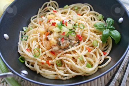 Fresh pasta stock photo, Fresh pasta by Yvonne Bogdanski