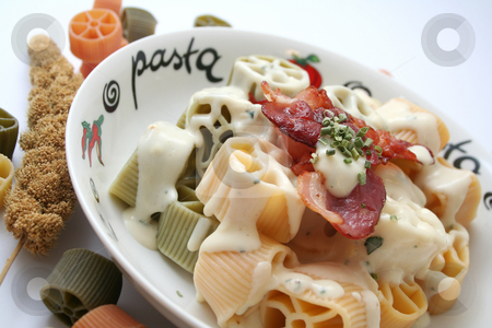 Italian pasta stock photo, Italian pasta by Yvonne Bogdanski