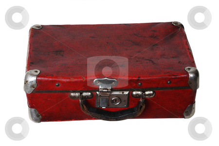 Old suitcase stock photo,  by Mikhail Egorov