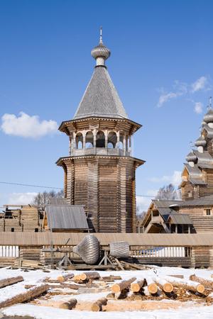 Belltower stock photo,  by Mikhail Egorov