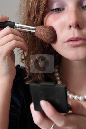 Make-up stock photo,  by Mikhail Egorov