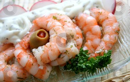 Fresh prawns stock photo, Fresh prawns by Yvonne Bogdanski