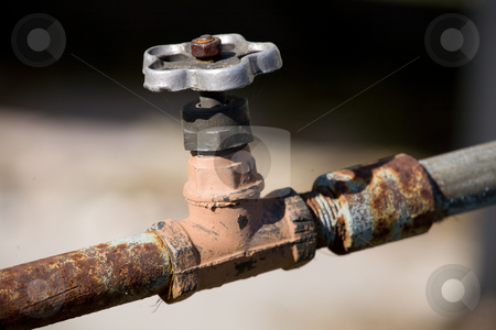 Water faucet stock photo,  by Mikhail Egorov