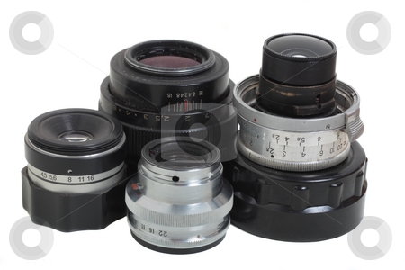Lenses stock photo,  by Mikhail Egorov