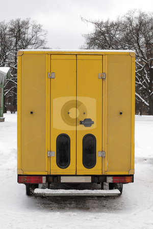Delivery truck stock photo,  by Mikhail Egorov