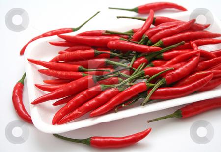 Asian chilis stock photo, Asian chilis by Yvonne Bogdanski